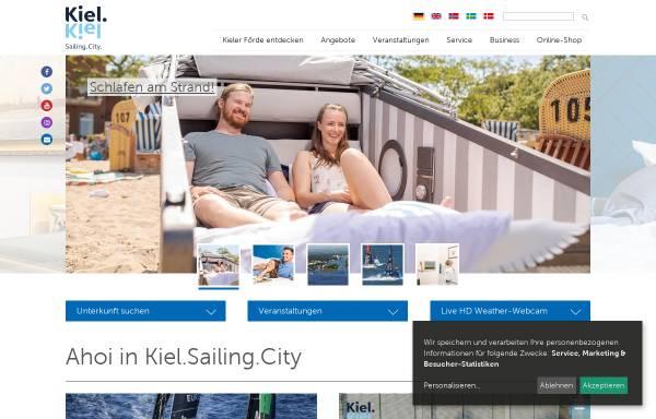 Vorschau von www.kiel-sailing-city.de, Kiel Sailing City