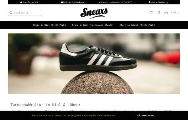 Vorschau von www.sneaxs.de, Sneaxs GmbH
