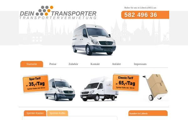 Vorschau von www.dein-transporter.net, Dein-Transporter, Danny Biolik