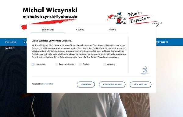 Vorschau von www.malermicha.de, Maler Michal Wiczynski