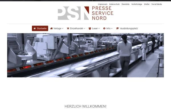 Vorschau von www.psnord.de, Presseservice Nord GmbH & Co. KG