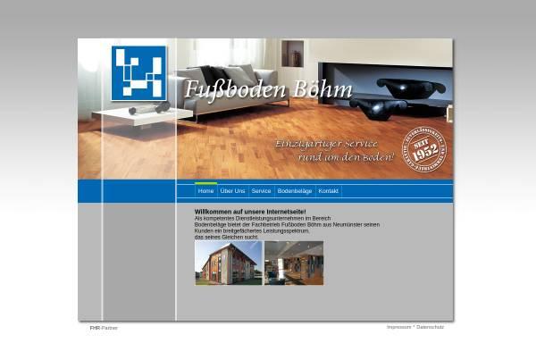 Vorschau von www.fussboden-boehm.de, Fußboden Böhm GmbH