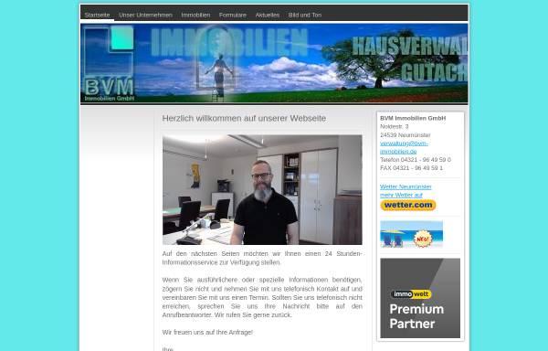Vorschau von www.bvm-immobilien.de, BVM Immobilien GmbH