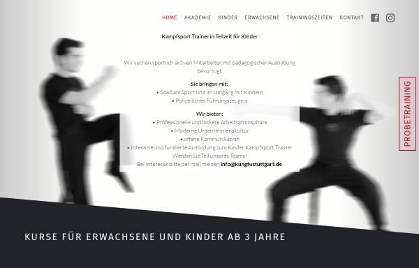 Vorschau von www.kungfustuttgart.de, Kung Fu Academy