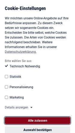Vorschau der mobilen Webseite www.arbeitsagentur.de, Bundesagentur für Arbeit