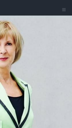 Vorschau der mobilen Webseite www.pothmer.de, Pothmer, Brigitte (MdB)