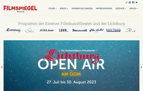 Vorschau von www.lichtburg-essen.de, Lichtburg Filmtheater GmbH