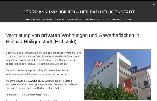 Vorschau von www.herrmannimmobilien.de, Herrmann Immobilien