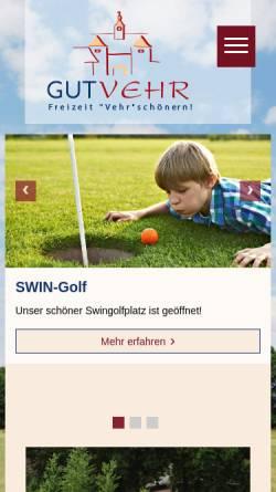 Vorschau der mobilen Webseite www.gutvehr.de, Gut Vehr