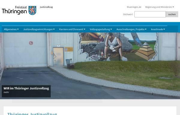 Vorschau von www.thueringen.de, JVA Untermaßfeld - Freistaat Thüringen