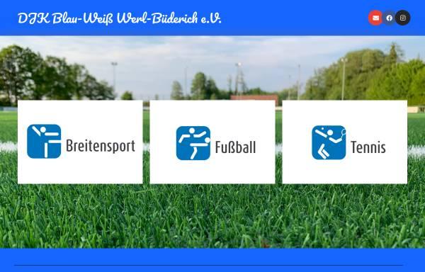 Vorschau von www.blau-weiss-buederich.de, DJK-Blau-Weiß / Werl-Büderich e. V.