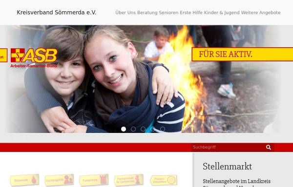 Vorschau von www.asbsoemmerda.de, ASB Kreisverband Sömmerda e.V.