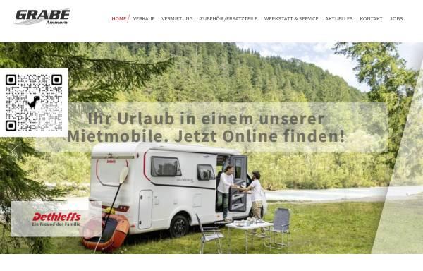 Vorschau von camping-grabe.de, Camping Grabe GmbH & Co. KG