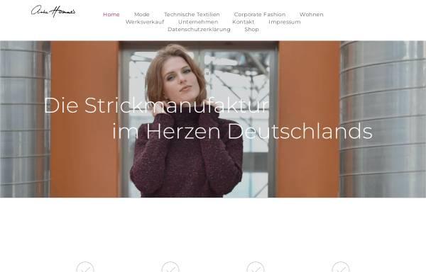 Vorschau von www.anke-hammer-strickart.de, Anke Hammer StrickArt
