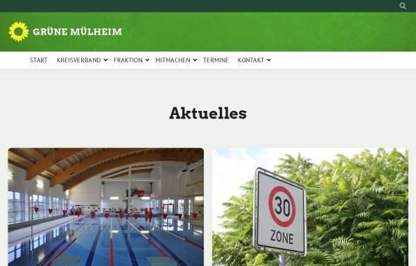 Vorschau von www.gruene-mh.de, Bündnis 90/Die Grünen Mülheim an der Ruhr