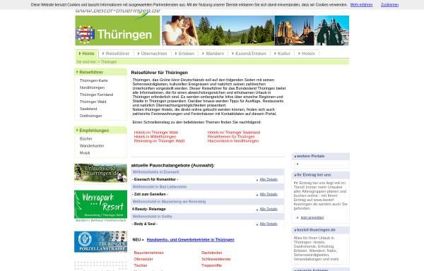 Vorschau von www.bestof-thueringen.de, Best of Thüringen