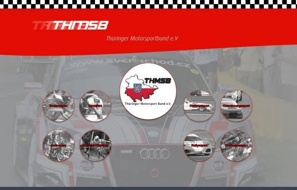 Vorschau von www.thueringer-motorsport.de, Thüringer Motorsport Bund e.V. (ThMSB)