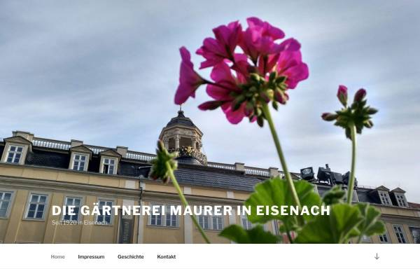 Vorschau von www.gaertnerei-maurer.de, Gärtnerei Maurer - Inh. Nils Maurer