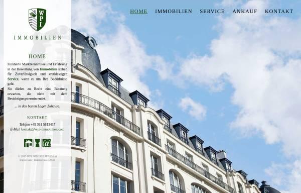 Vorschau von wpi-immobilien.com, WPI Immobilien GmbH