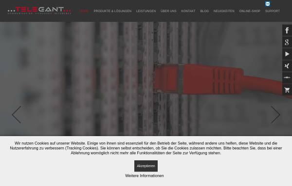 Vorschau von www.telegant.eu, Telegant GmbH