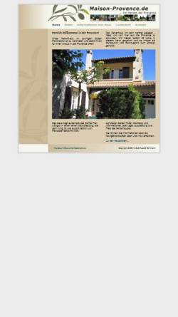 Vorschau der mobilen Webseite www.maison-provence.de, Ferienhaus, Familie Pohlmann
