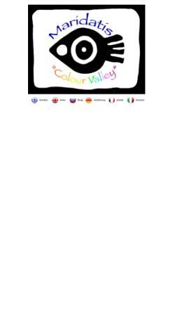 Vorschau der mobilen Webseite www.maridatis.gr, Maridati Apartments bei Palekastro