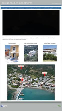 Vorschau der mobilen Webseite plakiaslimani.gr, Plakias Studios Apartments