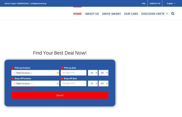Vorschau von www.autotravel.gr, Auto Travel