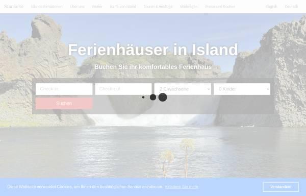 Vorschau von island.v-office-cms.com, Ferienhäuser in Island