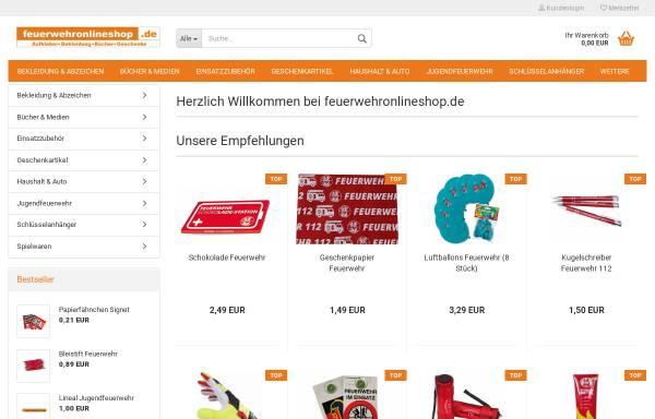 Vorschau von www.feuerwehronlineshop.de, FOS Marketing UG