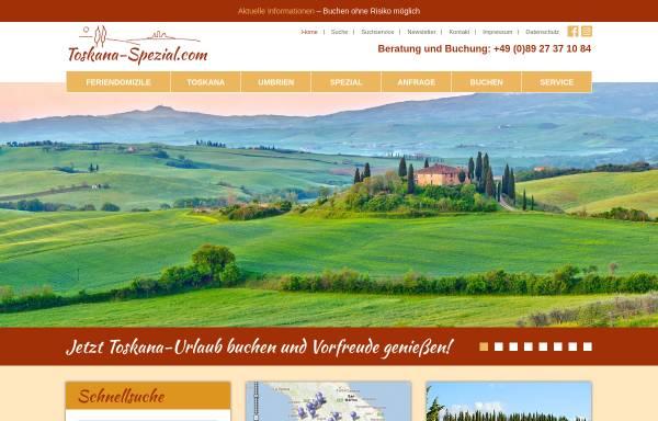 Vorschau von www.toskana-spezial.com, Hämmerle Ferienwohnungen