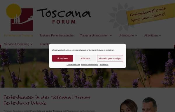 Vorschau von www.toscana-forum.de, Toscana Forum