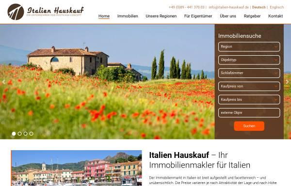 Vorschau von www.italien-hauskauf.de, Italien-Hauskauf.de