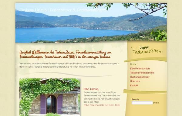 Vorschau von toskanazeiten.com, ToskanaZeiten