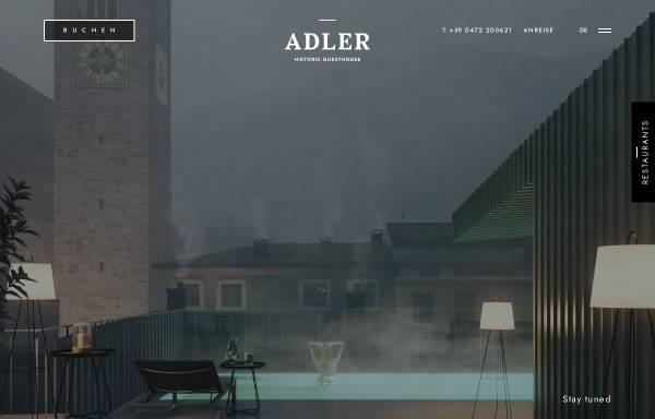 Vorschau von www.goldener-adler.com, Hotel Goldener Adler