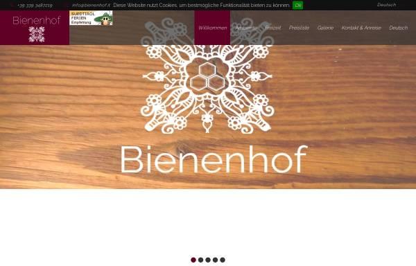 Vorschau von www.bienenhof.it, Bienenhof