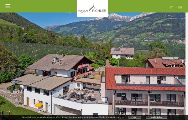 Vorschau von www.pension-pichler.it, Pension Pichler