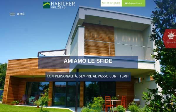 Vorschau von www.habicher.it, Habicher Holzbau GmbH