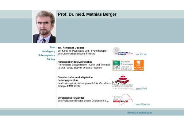 Vorschau von www.berger-mathias.de, Berger, Prof. Dr. Mathias