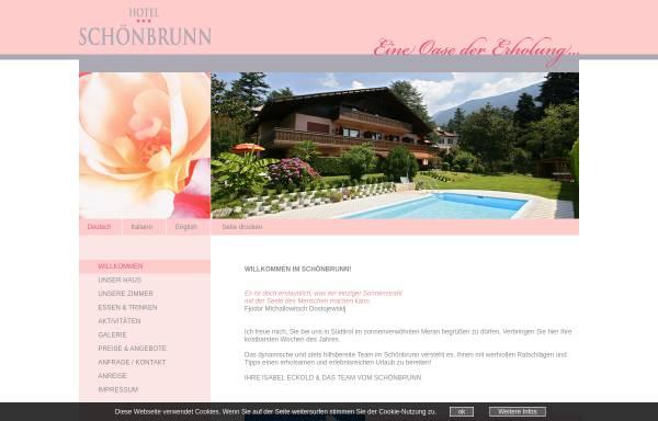 Vorschau von www.schoenbrunn.it, Pension Schönbrunn