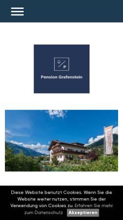 Vorschau der mobilen Webseite www.italy-web.com, Pension Grafenstein