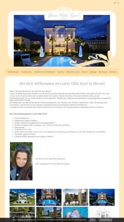 Vorschau der mobilen Webseite www.garnityrol.it, Garni Tyrol