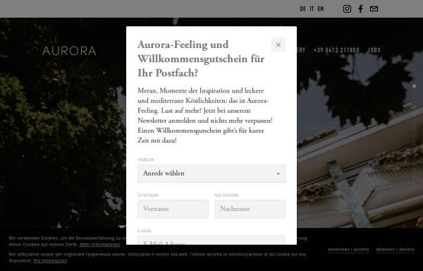 Vorschau von www.hotel-aurora-meran.com, Aurora