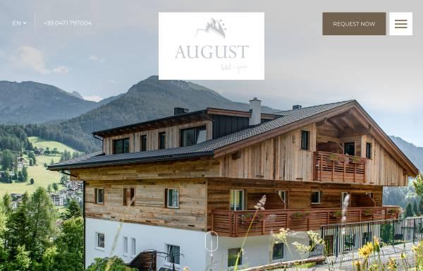 Vorschau von www.garniaugust.com, Garni-Hotel August