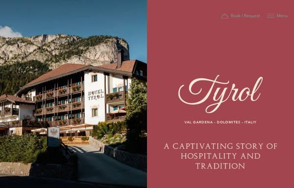 Vorschau von www.tyrolhotel.it, Hotel Tyrol