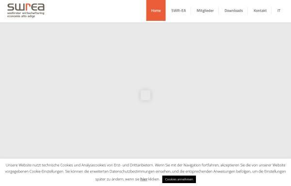 Vorschau von www.swr.bz.it, Südtiroler Wirtschaftsring - SWR