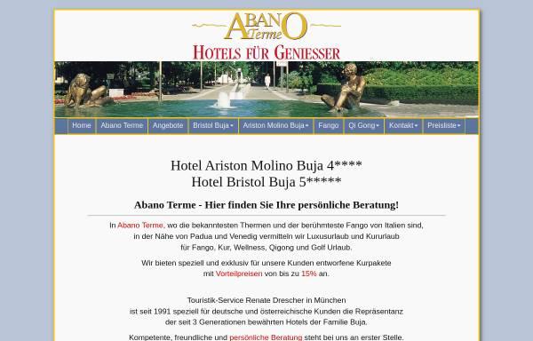 Vorschau von www.abanoterme.de, Abanoterme.de