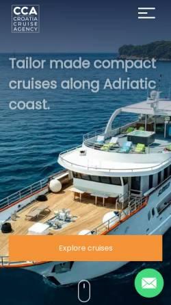 Vorschau der mobilen Webseite www.croatia-istria.com, J.E.M. Trade