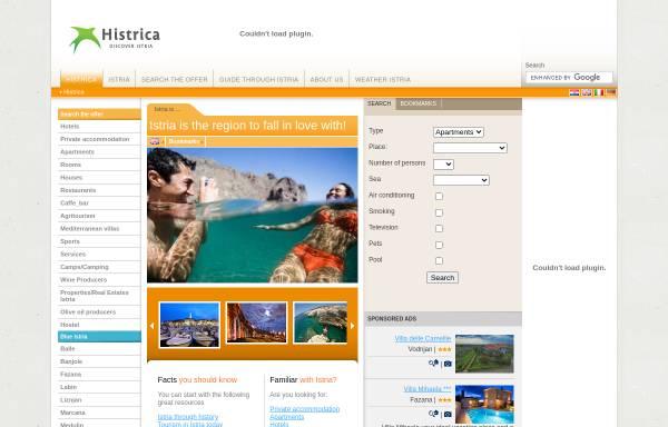 Vorschau von histrica.com, Histrica