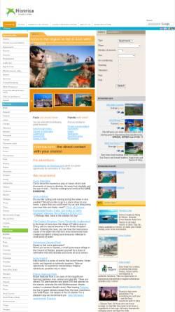 Vorschau der mobilen Webseite histrica.com, Histrica